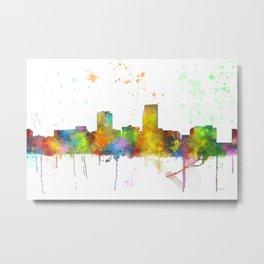 Omaha, Nebraska Skyline Metal Print