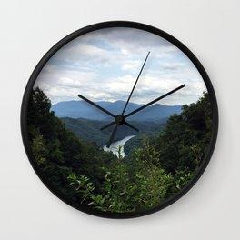 Great Smokey Mountains National Park Wall Clock