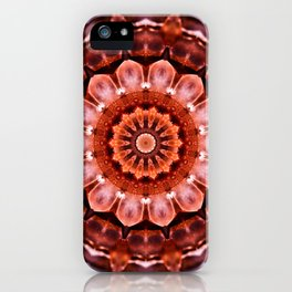 Aragonite Mandala iPhone Case