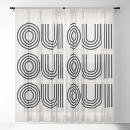 yes. Sheer Curtain