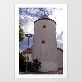 DE - Baden-Wurttemberg : Castle tower Art Print