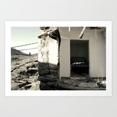 The house that collapsed. Vol 2 Art Print