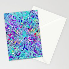 Re-Created  Mosaic No. ELEVEN by Robert S. Lee Stationery Cards