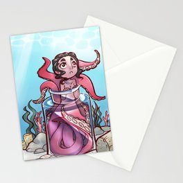 Octomaid Stationery Cards