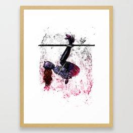 Bondage Catwoman Framed Art Print