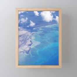 view from up here Framed Mini Art Print