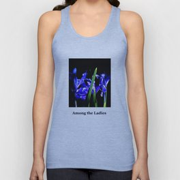 Among the Ladies Artist Series jGibney Irises Unisex Tank Top