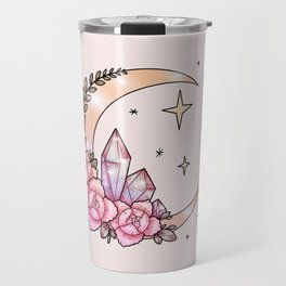 Moon & Crystals Travel Mug
