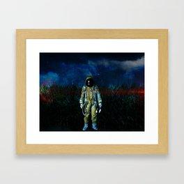 Crash Landing Framed Art Print