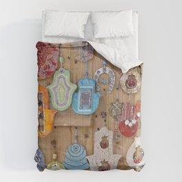 Hamsa lucky charms Comforters