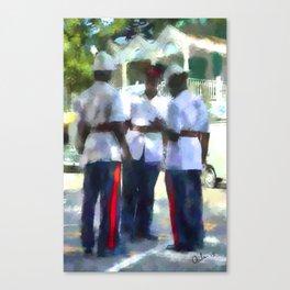 Nassau Blues Canvas Print