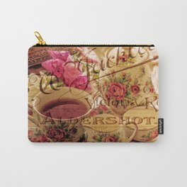 Teacup and Roses 3 Carry-All Pouch