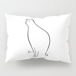 Linear Cat 01 Pillow Sham