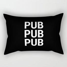 PUB PUB PUB Rectangular Pillow