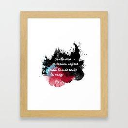 Sang freda Framed Art Print