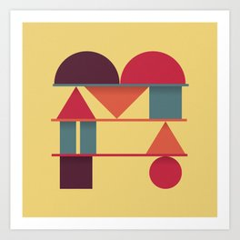 Typography series #M Art Print