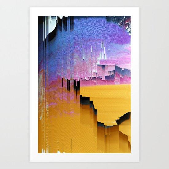 Beautifully Broken Art Print