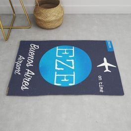 EZE Buenos Aires airport Rug