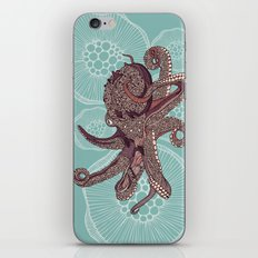Octopus Bloom iPhone & iPod Skin