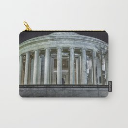 Jefferson Memorial - Side View Carry-All Pouch