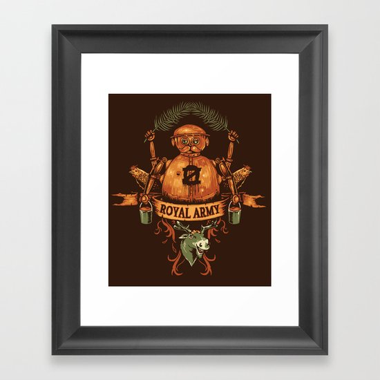 Royal Army Framed Art Print