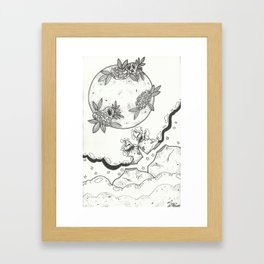 Tara & Kumari Framed Art Print