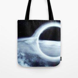 Gargantua, the Black Hole Tote Bag