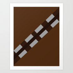 Star Wars - Chewbacca Art Print
