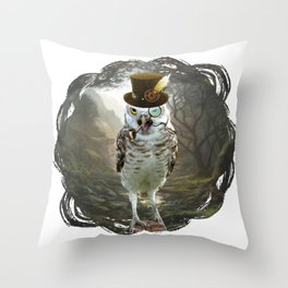 Lord Of The Owls - II Throw Pillow