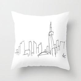 I Dream Of A Different Skyline Throw Pillow
