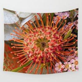 Pincushion Protea Wall Tapestry