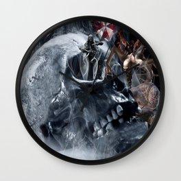 Skull resident Wall Clock