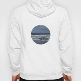 Blue sea, blue sky Hoody