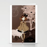 doll Stationery Cards featuring Doll by Murasaki Sin