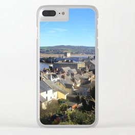 Spring Day At Conwy Clear iPhone Case