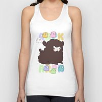 alpaca Tank Tops featuring Little alpaca by Lady Cibia
