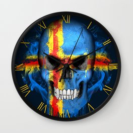 To The Core Collection: Aland Islands Wall Clock