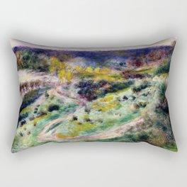 Road at Wargemont Rectangular Pillow