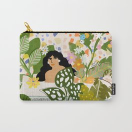 Bathing with Plants Carry-All Pouch