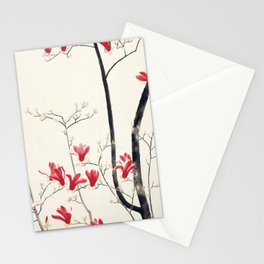 Kobayashi Kokei - Top Quality Art - Magnolia Tree Stationery Cards