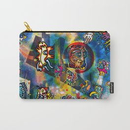 Kandinsky with Cool Monsters Street Art Carry-All Pouch