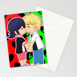 Miraculous Kiss Stationery Cards
