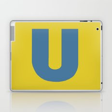 U is for... Laptop & iPad Skin