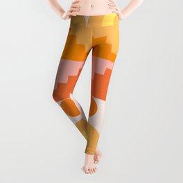 Abstraction_NEW_SUN_MOON_ARCHITECTURE_POP_ART_001AAA Leggings