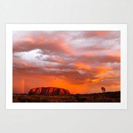 Uluru's Finest Art Print