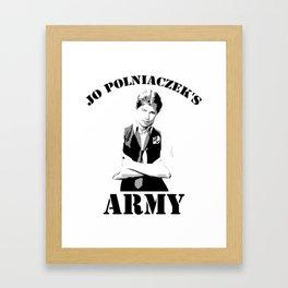 Jo Polniaczek's Army Framed Art Print