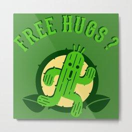 Free Hugs II Metal Print