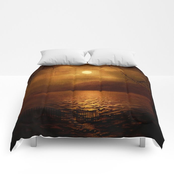 Serenity Painted Death Comforters