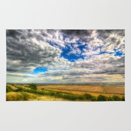 Thames Estuary View Rug