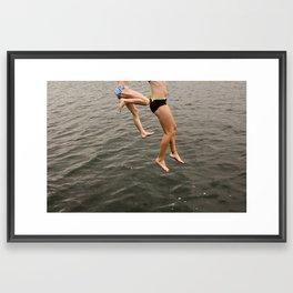 LAKE CHARLEVIOX  Framed Art Print
